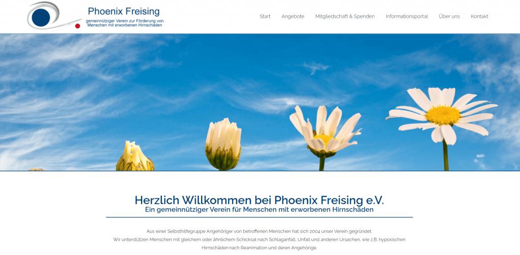 Webdesign Phoenix Freising